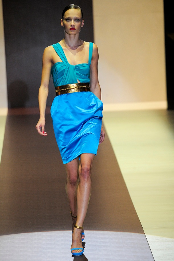 Jewel colours - Gucci Spring/Summer 2011