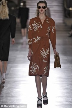 Miu Miu 1940s dress, Autumn/Winter 2011